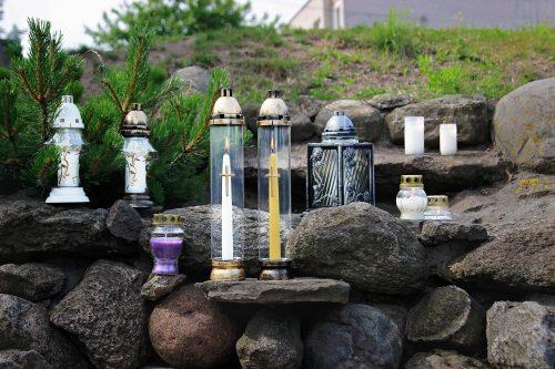 Lauko / kapinių žvakės