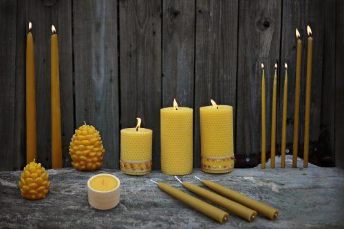 Vaškinės žvakės