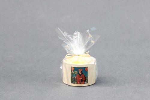 """Suvenyrinė žvakė """"Molinukas"""" su Šv. Kazimieru"""