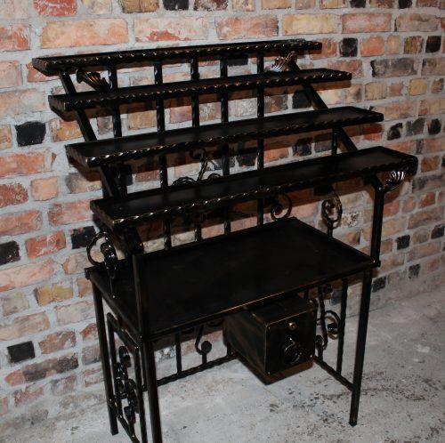 stalas žvakių deginimui bažnyčioje, kolpyčioje, žvakė metale, tabletėms, su pinigų dėžute.