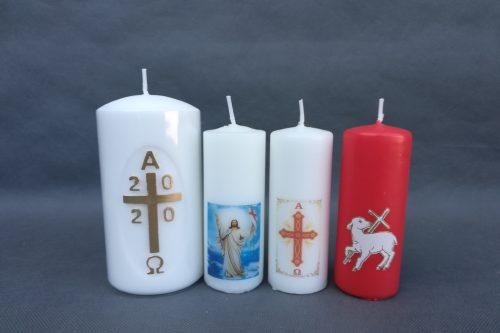 Velykinių žvakių rinkinys