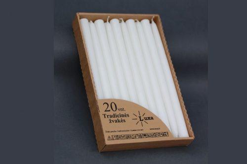 tradicinė 30 cm spalvota žvakė