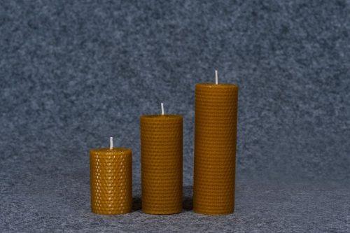 korinis cilindras, natūralus bičių vaškas