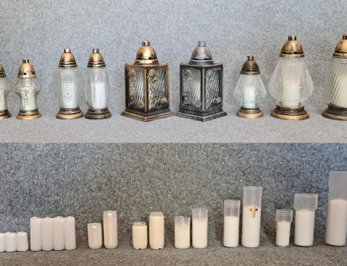 Kapų žvakės ir įdėklai